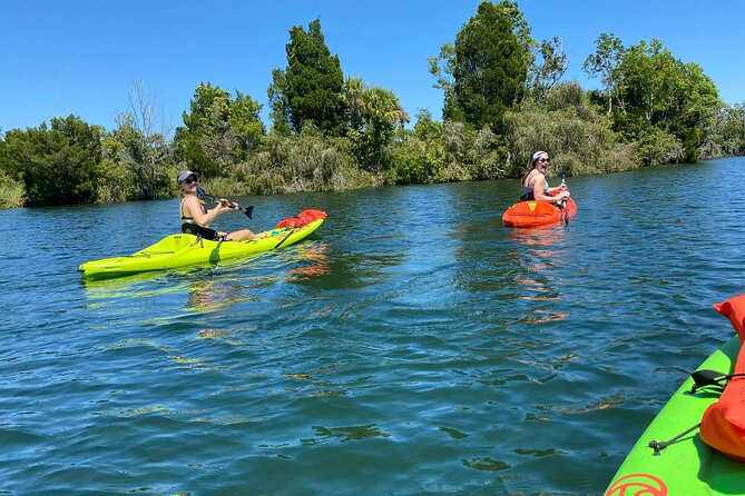 We have the best rental equipment in town. We have new Crescent kayaks to keep you safe on your journey. They are very stable and can hold up to 300 pounds. Our customers love our equipment and our customer service. Book with us and feel the difference.