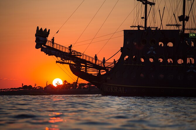 MÁS FOTOS, from Side: Sunset boat trip in Alanya with dinner and drinks
