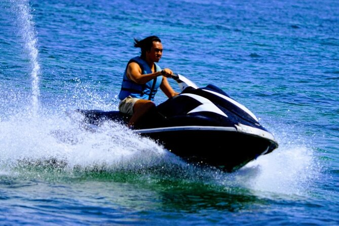Feel driving your own jet ski without a guide at high speed in the sea while enjoying the beauty of the beach of Nusa Dua<br><br>Never miss the beauty offered by Bali,Make this tour package your choice. You will get an unforgettable personal experience. <br><br>BOOK NOW