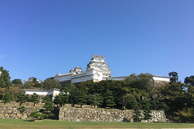 "Himeji Castle is one of the 12 Japanese castles well conserved with their wooden keeps. This Castle History starts from 1346 and we can see it as it was in 1618. <br><br>Nearby the castle, Engyo-ji temple, on Mount Shosha, has got a thousand years long history. Some scene from ""The last Samurai"" movie were taken there.<br><br>When we go back to Kobe, we can visit the Great Bridge of Akashi Kaikyo then Gigantor, statue of a robot, symbols of the revival of Japan, its technological genius and its pop culture."
