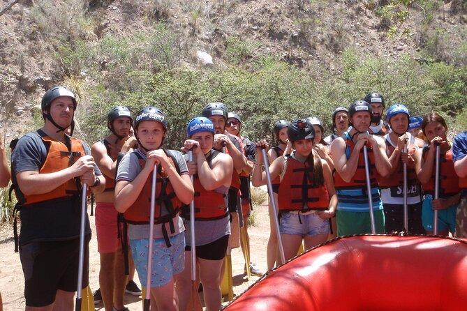 Rafting . Tirolesa y Traslado ida y vuelta . Potrerillos, Mendoza, ARGENTINA