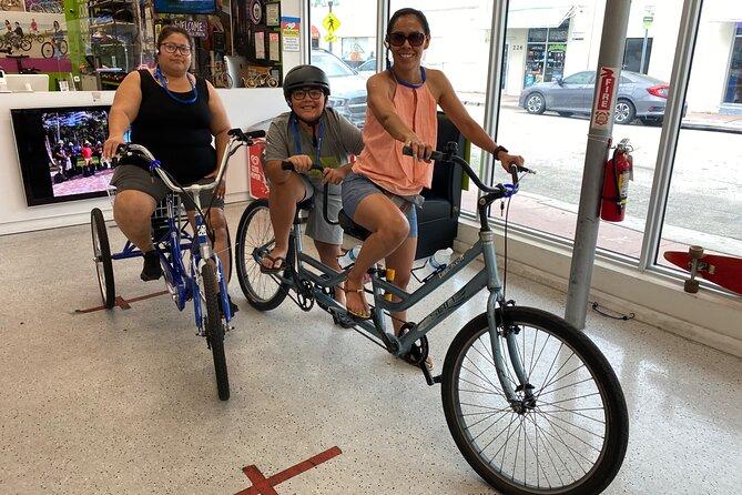 Alquiler de bicicletas en South Beach, Miami, FL, ESTADOS UNIDOS