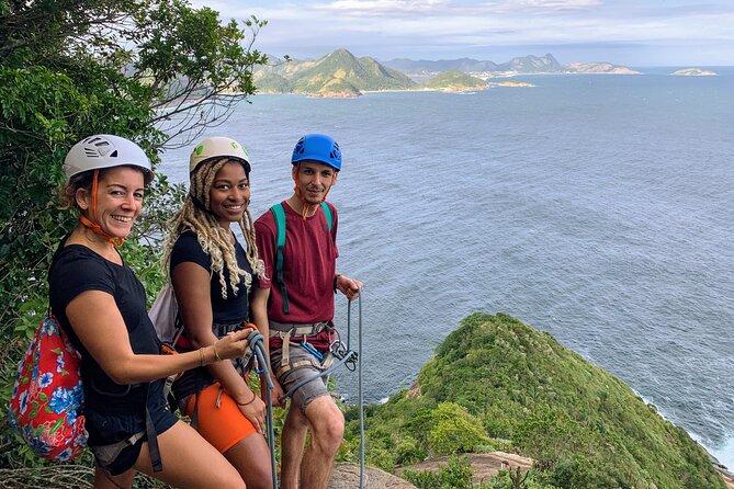 Reach Sugarloaf Summit by Hiking and Climbing, Rio de Janeiro, BRAZIL