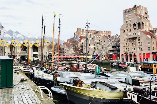 MAIS FOTOS, Private Experience to Rotterdam for a Walking Tour and Harbor Cruise