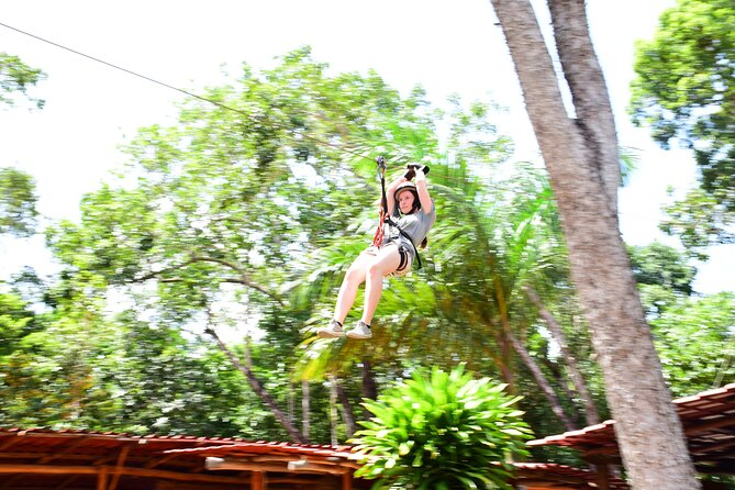 Combo from Cancun - Zipline Cenote ATV (Shared) and Lunch, Cancun, MÉXICO