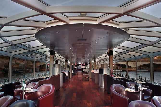 Paris en Scene Boat 3-Course Dinner Cruise, Paris, FRANCIA