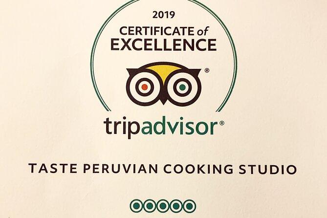 Clase de cocina peruana de alta gama y visita guiada al mercado de San Pedro, Cusco, PERU