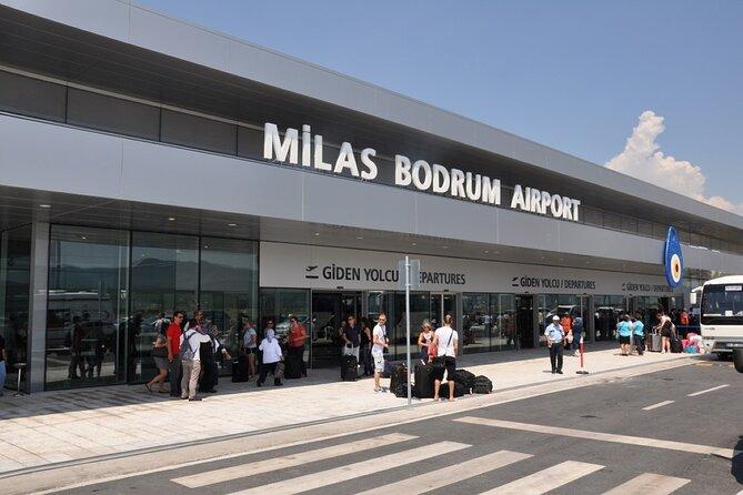 Private Departure Transfer: Central Bodrum or Bodrum Peninsula Hotels to Bodrum Airport, Bodrum, TURQUIA