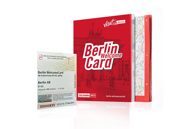 MORE PHOTOS, Berlin WelcomeCard (Including Public Transport & Discounts)
