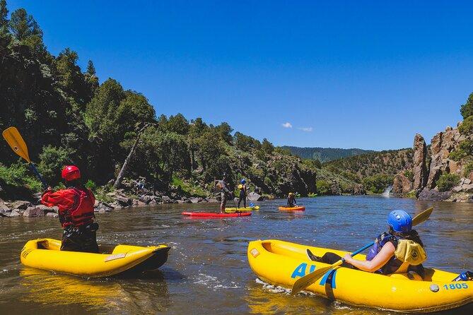 Inflatable Kayak Half-Day Excursion from Kremmling, Breckenridge, CO, ESTADOS UNIDOS
