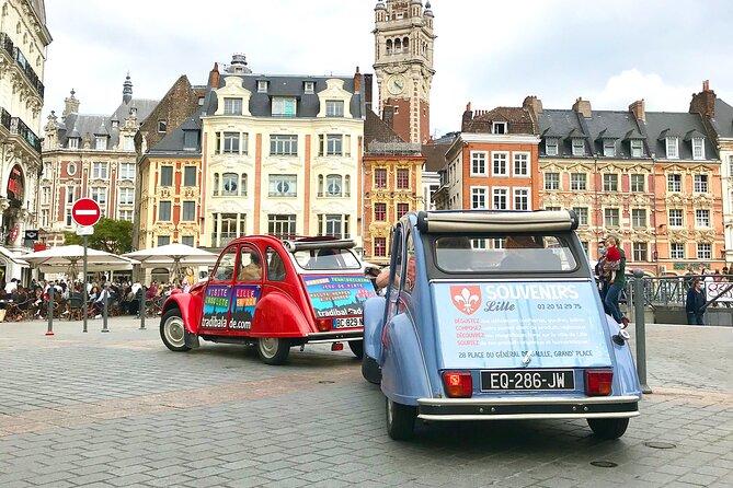 MAIS FOTOS, Unique Tour of Lille by Convertible 2CV - 1h00