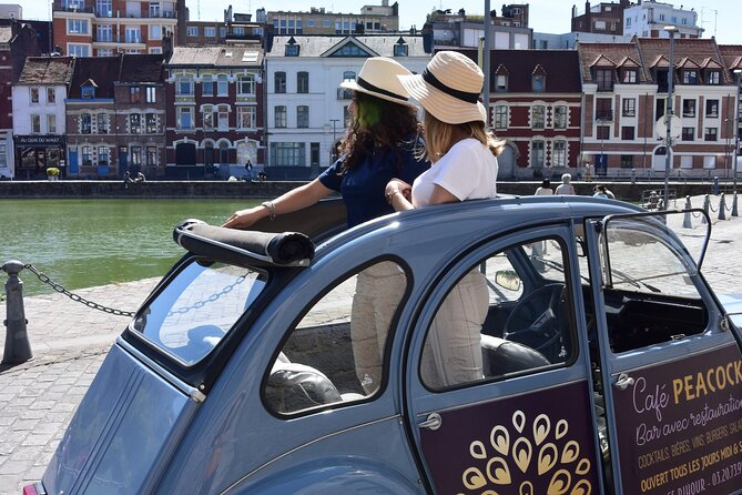 MAIS FOTOS, 90-Minutes Private Lille Tour by Convertible 2CV with Tasting