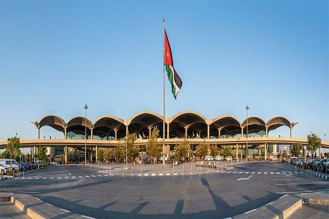 Traslado privado desde el aeropuerto de Ammán para llegadas, Aman, JORDANIA