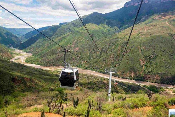 MÁS FOTOS, Bucaramanga, PANACHI Canyon Cable Car + Barichara tour