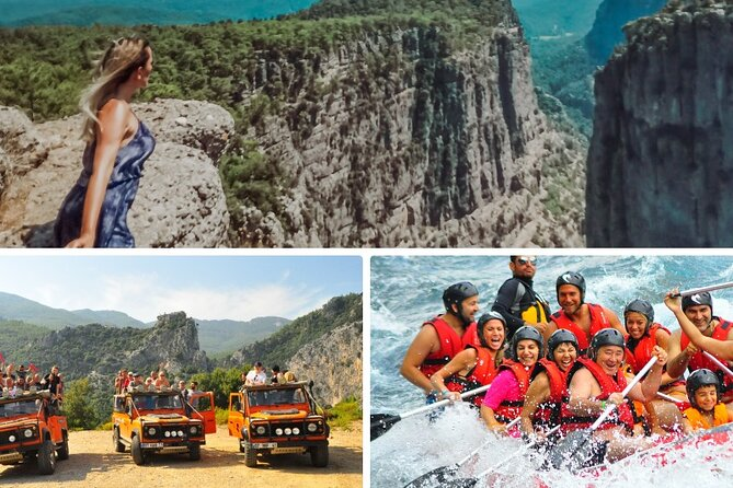 MÁS FOTOS, NEW! Tazi Canyon Safari and White Water Rafting Day Tour from Side