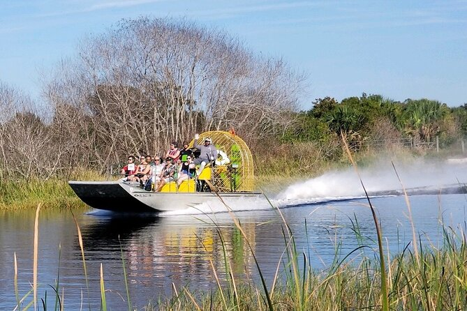 MÁS FOTOS, 90-min Everglades Airboat Tour in Central Florida