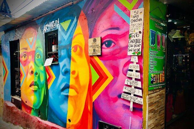 MÁS FOTOS, Bogotá Grafiti—Recorrido a Pie o en Bicicleta   La Candelaria y Distrito Grafiti