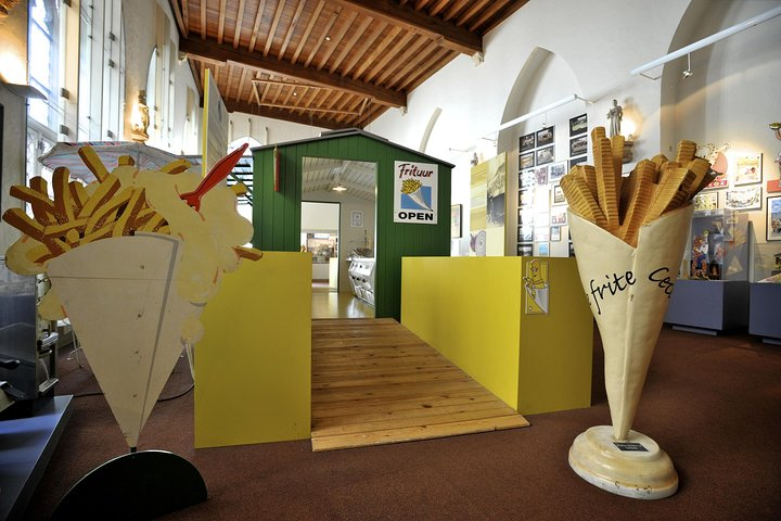 Frietmuseum Entrance Ticket, Brujas, BELGICA