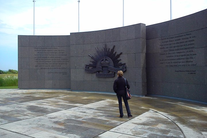 2 day Australian WW1 battlefield tour in Flanders the Somme from Bruges or Ypres, Brujas, BELGICA