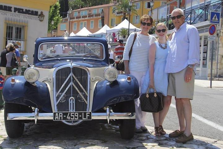 Recorrido en la Riviera francesa privado en un coche clásico desde Niza, Niza, FRANCIA