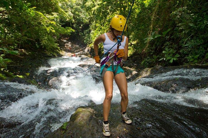Rappel El Encanto Waterfall in Jaco, Jaco, COSTA RICA