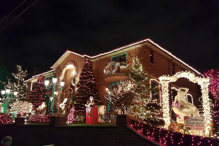 Dyker Heights Brooklyn Christmas Lights Tour, New York, NY, ESTADOS UNIDOS
