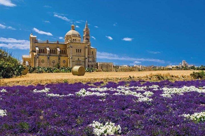 Excursión de día completo para descubrir Gozo que incluye el viaje en tren a Cittadella, ,