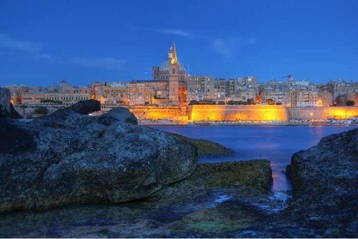 Valletta, Mosta and Mdina Night Tour, Mellieha, MALTA
