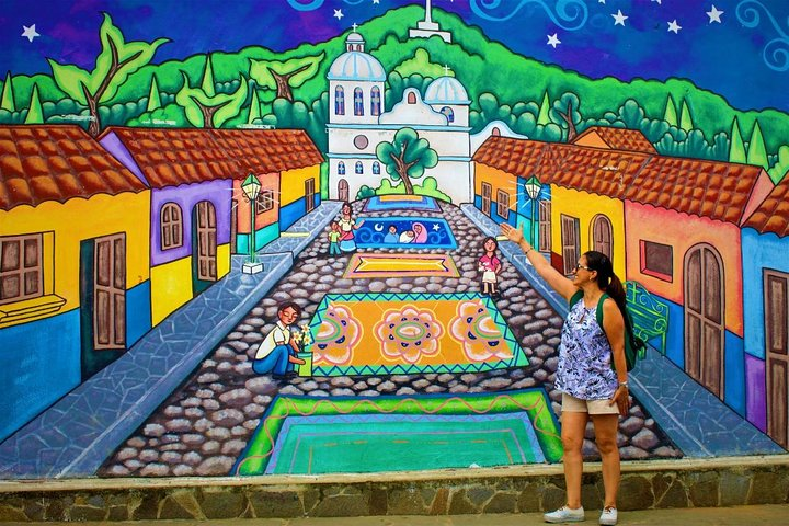 Ruta de Las Flores People volcanoes colonial towns, San Salvador, EL SALVADOR