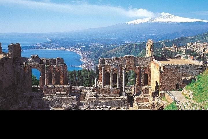 Catania Shore Excursion: Catania to Taormina and Castelmola, Catania, ITALIA