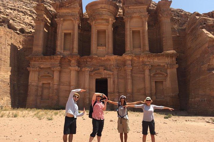 Excursión privada de 2 días a Petra, Wadi Rum y el mar Muerto desde Ammán, Aman, JORDANIA