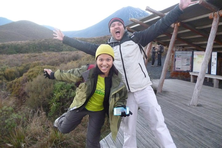 Tongariro Crossing Return Transfer from Turangi, Parque nacional de Tongariro, NOVA ZELÂNDIA