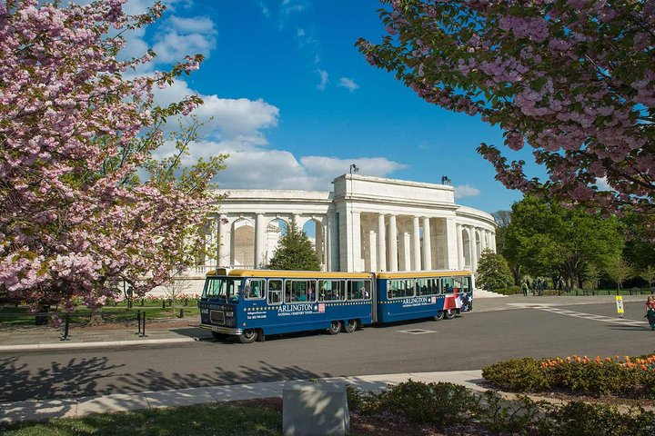 Excursión en autobús con paradas libres al Cementerio Nacional de Arlington, Washington DC, ESTADOS UNIDOS