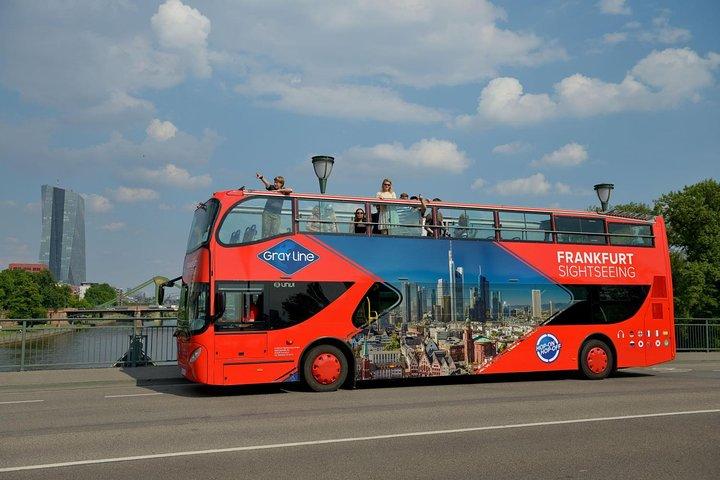 Frankfurt Skyline Hop-on Hop-off Tour, Frankfurt, GERMANY