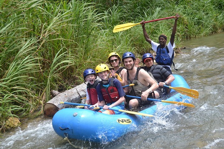 Ocho Rios River Rapids with Lunch and Blue Hole Adventure, Falmouth, JAMAICA