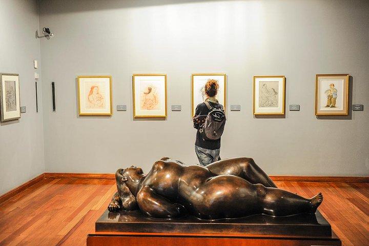 Visita guiada al Museo de Botero, Bogota, COLOMBIA