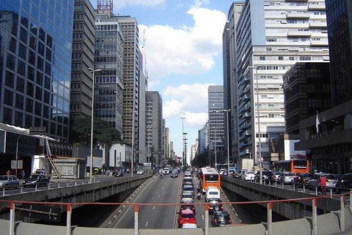 Recorrido privado por São Paulo desde la terminal de cruceros de Santos, Santos, BRASIL