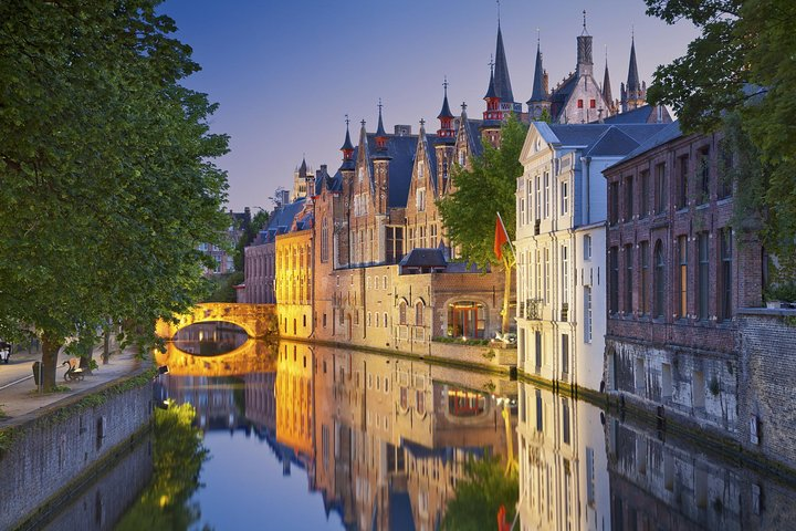 Traslado de ida y vuelta en autobús desde Zeebrugge a Brujas, Brujas, BELGICA