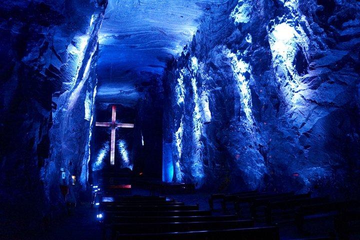 Catedral de sal de Zipaquirá y Lago Guatavita desde Bogotá (Experiencia privada), Bogota, COLOMBIA