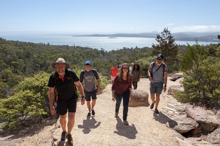 Active Day Tour One-Way from Hobart to Launceston via Wineglass Bay, Hobart, AUSTRALIA