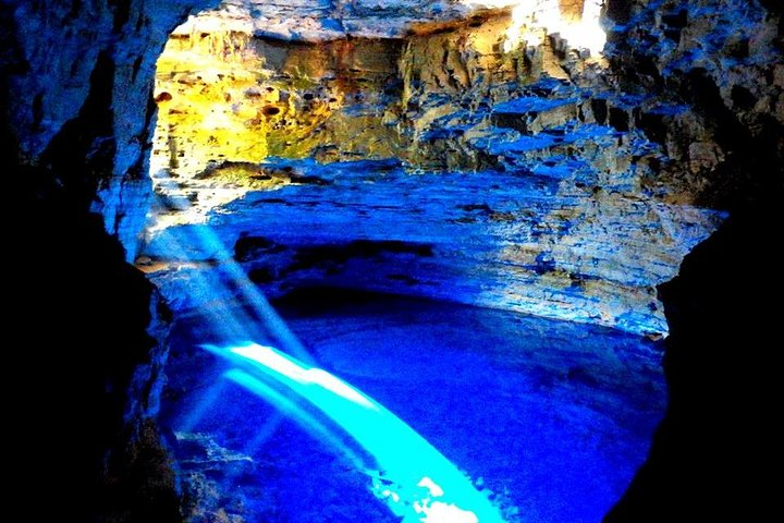 The Poço Encantado and the Poço Azul By Discover Chapada, Lencois, BRAZIL