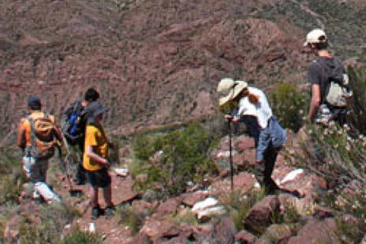 Caminhadas e rapel para Quebrada del Salto de Mendoza, Mendoza, ARGENTINA