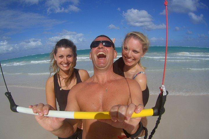 Lecciones de kitesurf en Punta Cana, Punta de Cana, REPUBLICA DOMINICANA