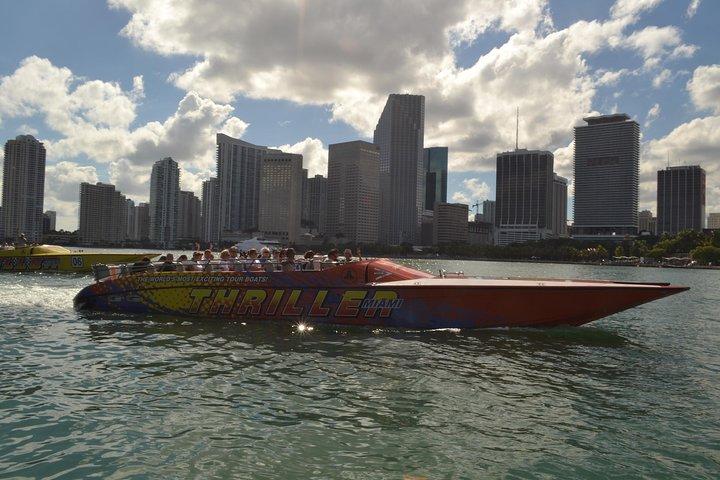 Speedboat Sightseeing Tour of Miami, Miami, FL, UNITED STATES