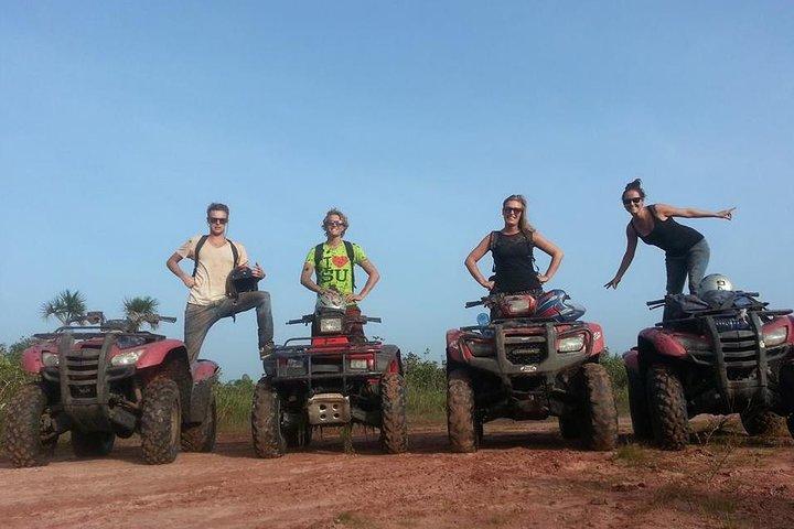 ATV Quad and Zipline Tour from Paramaribo, Paramaribo, SURINAM