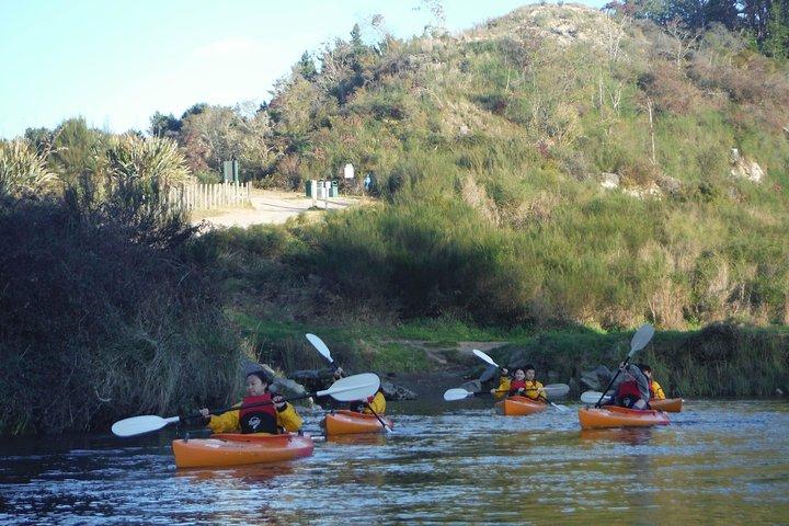 Kayak the Waikato River Taupo, Taupo, NOVA ZELÂNDIA