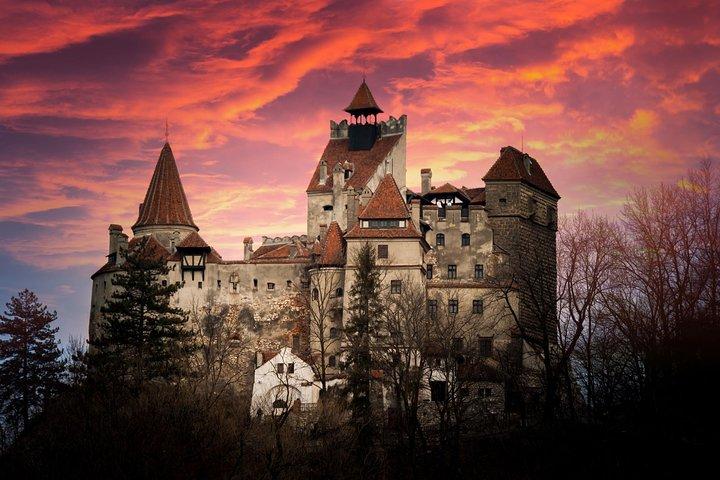 Bran Castle - Dracula's Castle after hours, Brasov, RUMANIA