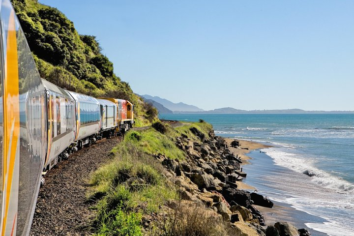 Coastal Pacific Journey - Picton to Christchurch by Train, Picton, New Zealand