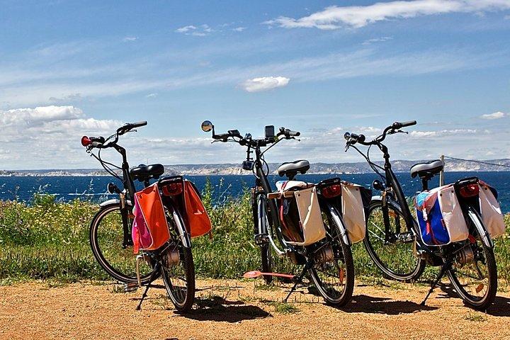 Marseille Shore Excursion: Private Electric Bike Tour to the Calanques, Marsella, FRANCIA