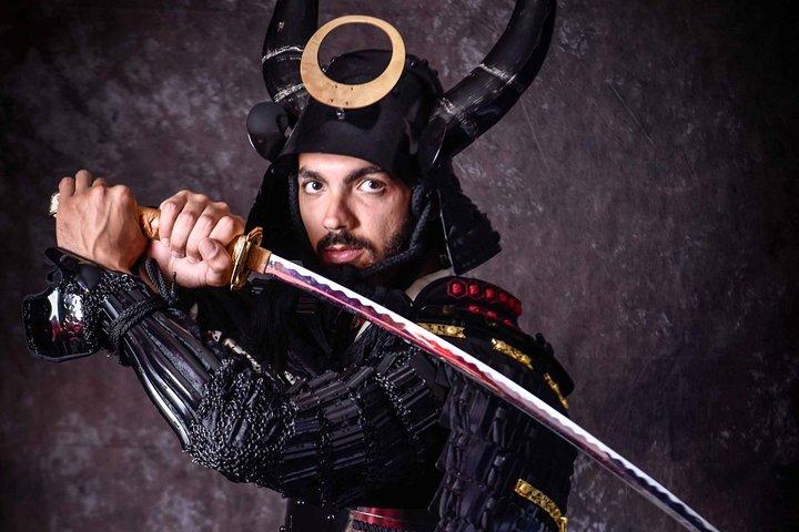 Samurai Armor Cosplay Experience, Kanazawa, JAPON
